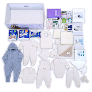 Baby Box with Organic cotton