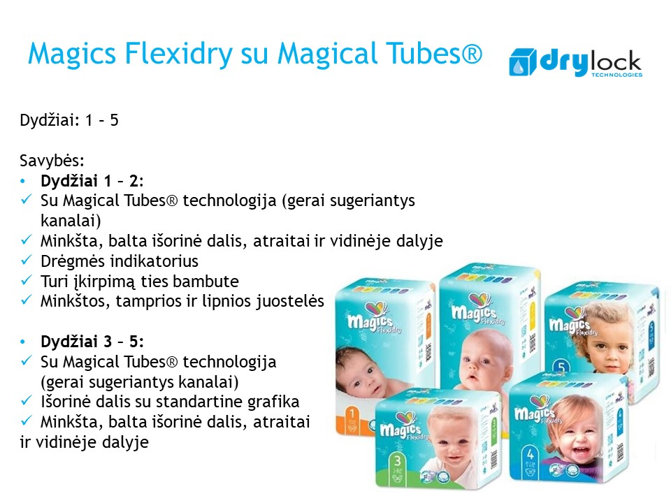 Magics Flexidry with magicak tubes 1