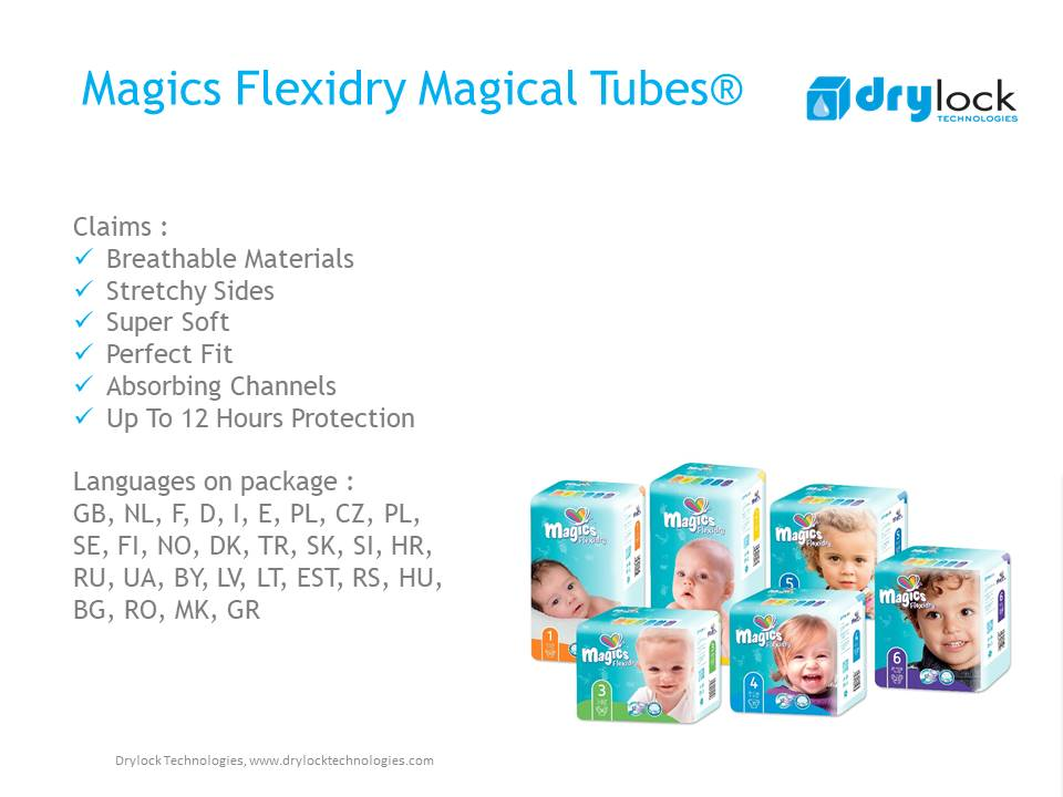 Magics Flexidry with magicak tubes 2
